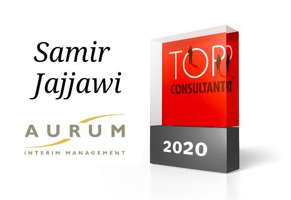Zum dritten Mal in Folge: Samir Jajjawi ist Top-Consultant 2020